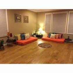 Matte Bedroom Wooden Flooring, Thickness: 3 Mm