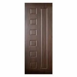 Brown 6 To 7 Feet Interior Membrane Door