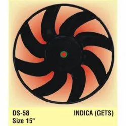 ABS Plastic Indica Fan Blade, Blade Size: 15 inch