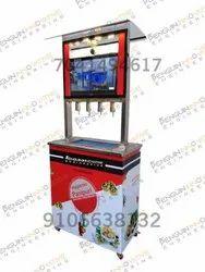 4 Nozzle Pani Puri Flling Top Machine
