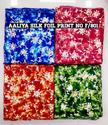 Aaliya Silk Foil Print Fabric