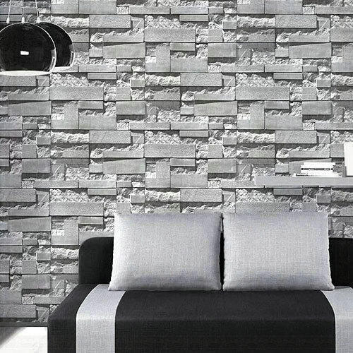 3d Stone Brick Wallpaper