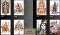 Marvelano Gloss 10x15 God Picture Wall Tiles, Size: Medium, 6 - 8 Mm