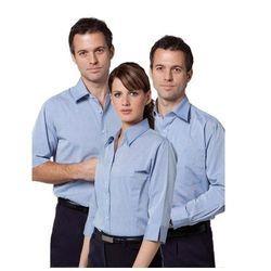 Cotton Blue, Black Corporate Uniform, Size: M