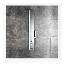 Monet Steel Matte Thermostatic Shower Panel