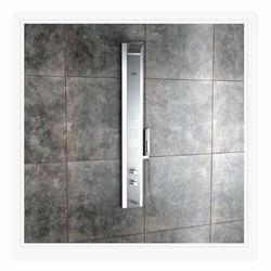 Monet Steel Matte Thermostatic Shower Panel