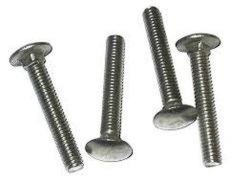 Mild Steel Carriage Bolts
