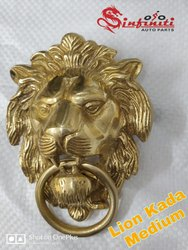 Royal Enfield Brass Lion Kada