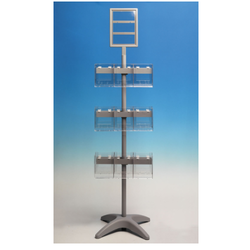 Rotatable Brochure Display Stand