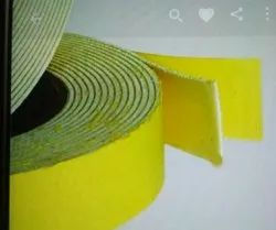 Double side yellow foam tape