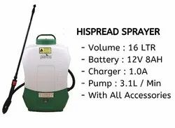 BATTERY SPRAYER - HISPREAD