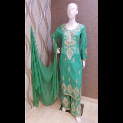 Gota Patti Palazzo Suit