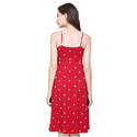 Red Surplus Ladies Dress
