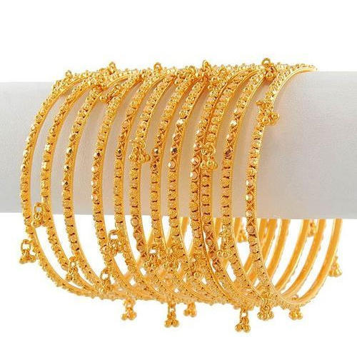 Gold Bangle Set at Rs piece