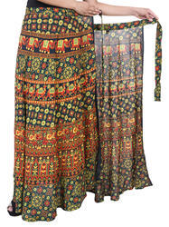 New Stylish Rayon Wrap Skirt