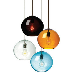Glass Designer Hanging Light