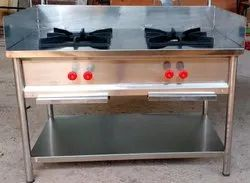 FORT 1 Matte Double Burners Cooking Bhatti