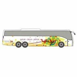 Imported Vinyl Bus Concept Branding Graphics