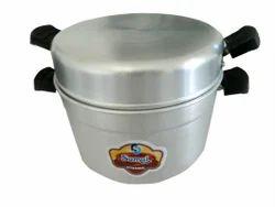 Silver Aluminium Sumul Aluminum Cooker
