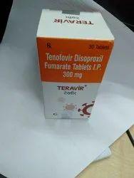 Teravir 300 Mg Tablet