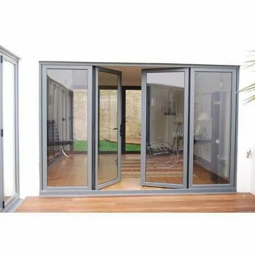 Aluminium Bifold Glass Door