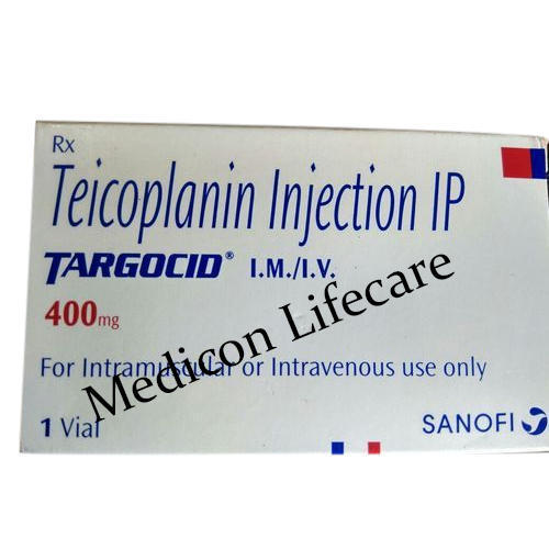 Teicoplanin Injection, 400mg, for Commercial