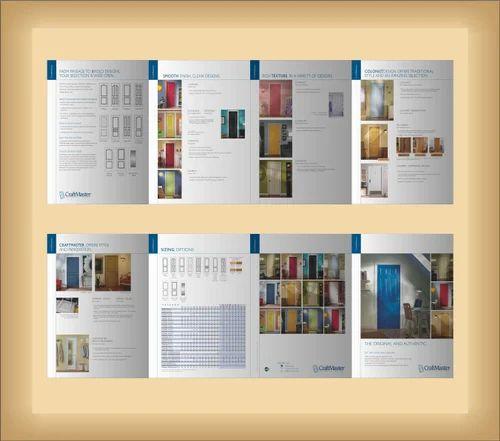 Gate Fold Brochure Printing Service in Noida, Noida, Shree