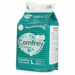 Comfrey Unisex Adult Diapers - Large
