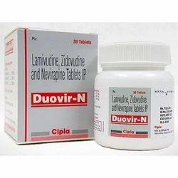 Duovir N Tablet (Lamivudine+Zidovudine+Nevirapine)