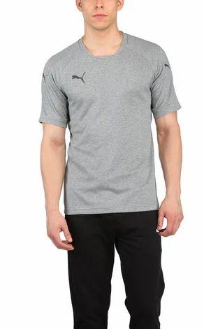 444013f21314 Grey Puma Ascension Casual Mens T Shirt