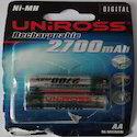 Uniross 2700Mah Rechargeable Batteries