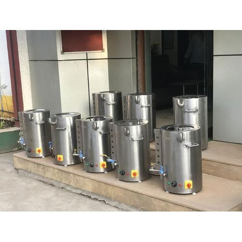 Stainless Steel Water Boiler, Water Boiler - Fabrinox Potnis India ...