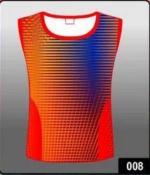 Orange Colour Vest