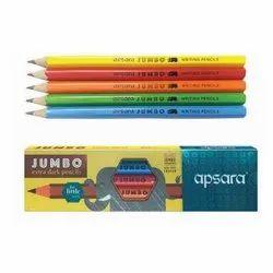 Apsara Black Jumbo Pencils, Packaging Size: 5 Pieces