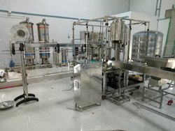 Fully Automatic Water Bottling Plant