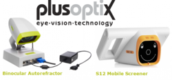 Plusoptix Vision Screen Equipment