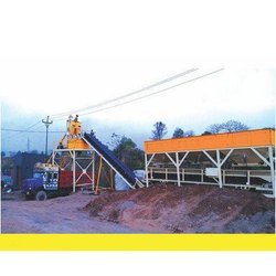 Stationary Mixing Concrete Batching Plant, Capacity: 10-15m3/Hour