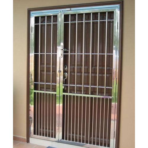 Stainless Steel Grills Gate At Rs 16000 Piece Stainless Steel Gate