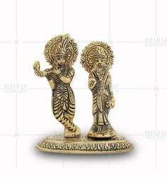 Gold Plated Radha Krishna Gift