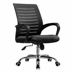shanti interiors Black Work Station Staff Chair