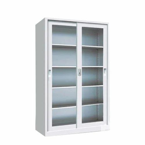 Mild Steel Rectangular Sliding Door Filing Cabinet Rs 7500 Piece