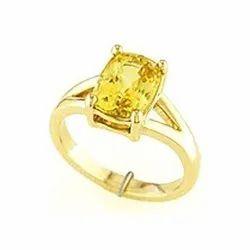 Yellow Sapphire/Pukhraj Ring