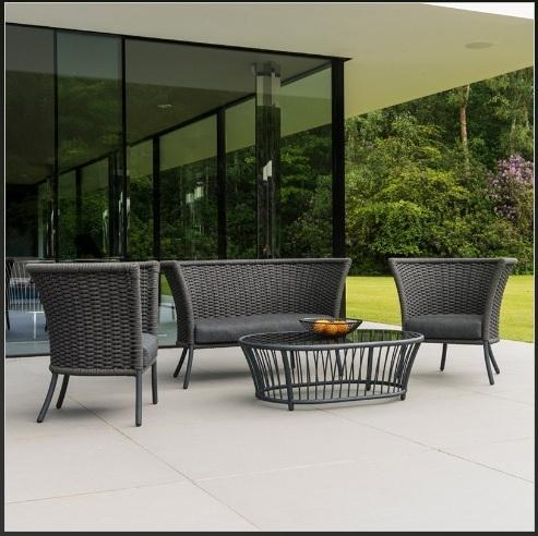 Rope Patio Furniture.Rope Outdoor Sofa Lounge Woven Rope Outdoor Furniture Modern