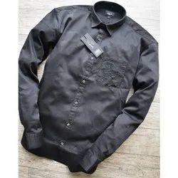 Plain Designer Cotton Shirt