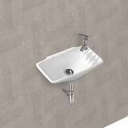 White Gen-x Gx-Wash Basin Shipla