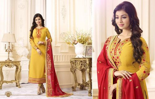 6d2a8e4703 All Georgette Fiona Ayesha Takia Fashion Salwar Kameez, Rs 1535 ...