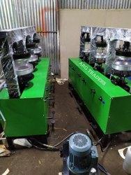 Six Die Areca Leaf Plate Making Machinery