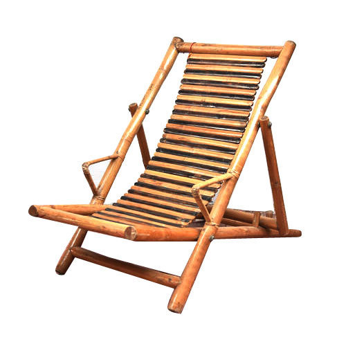 Brown Bamboo Recliner Chair Rs 6000 Piece Vishwa Engineering