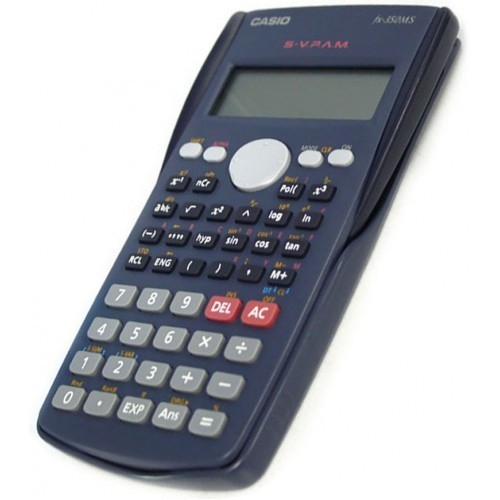 Blue Casio Scientific Calculator