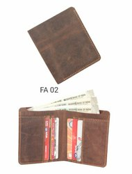 Plain Male Leather Wallet